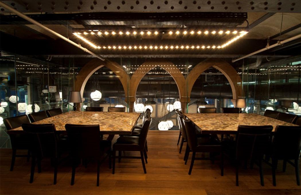 طراحی داخلی رستوران دریایی در اسرائیل - Seafood Restaurant 14