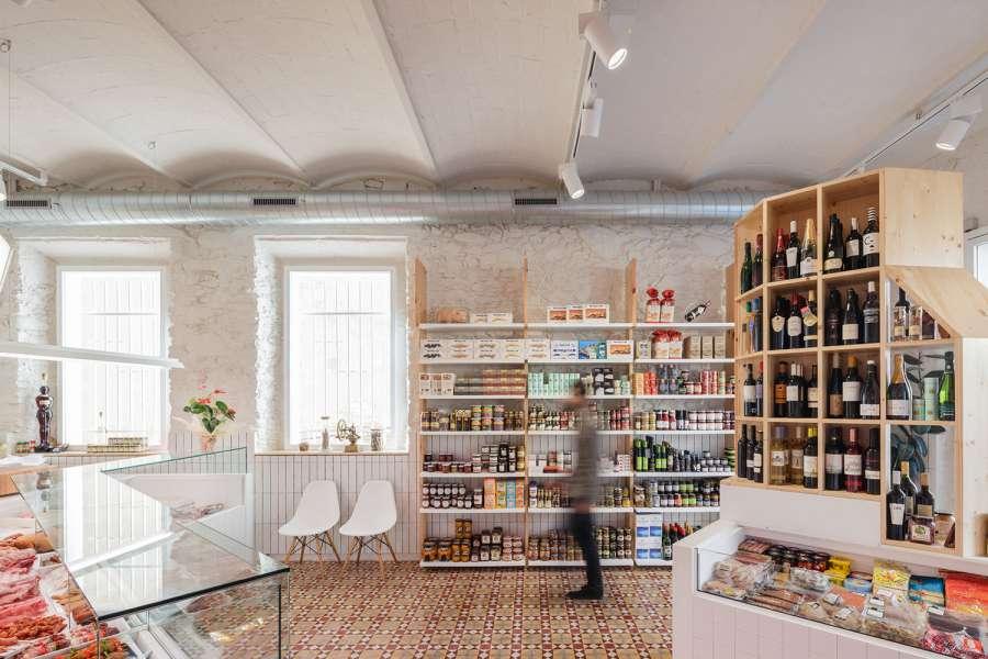 پلان فروشگاه های تجاری با مساحت 100 تا 1000 متر مربع - architectural plan retail shop 13
