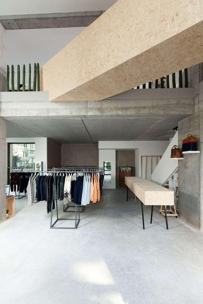 پلان فروشگاه های تجاری با مساحت 100 تا 1000 متر مربع - architectural plan retail shop 15