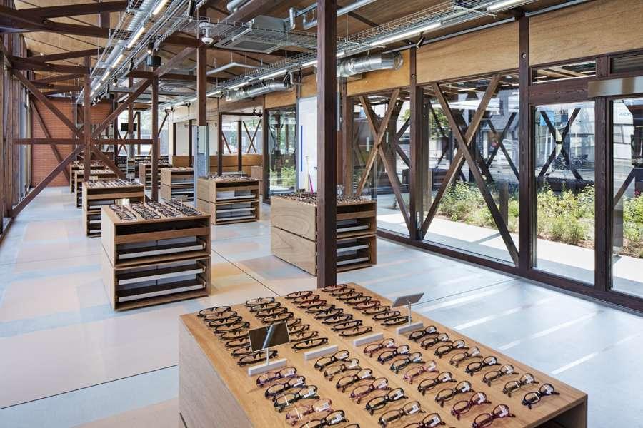 پلان فروشگاه های تجاری با مساحت 100 تا 1000 متر مربع - architectural plan retail shop 19