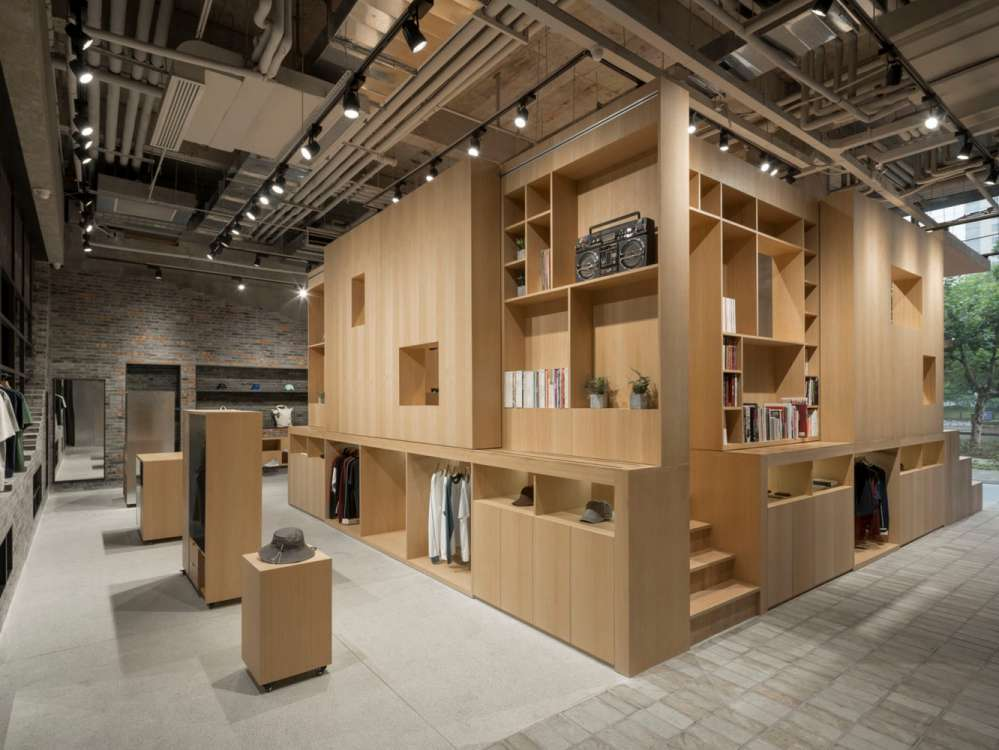 پلان فروشگاه های تجاری با مساحت 100 تا 1000 متر مربع - architectural plan retail shop 21