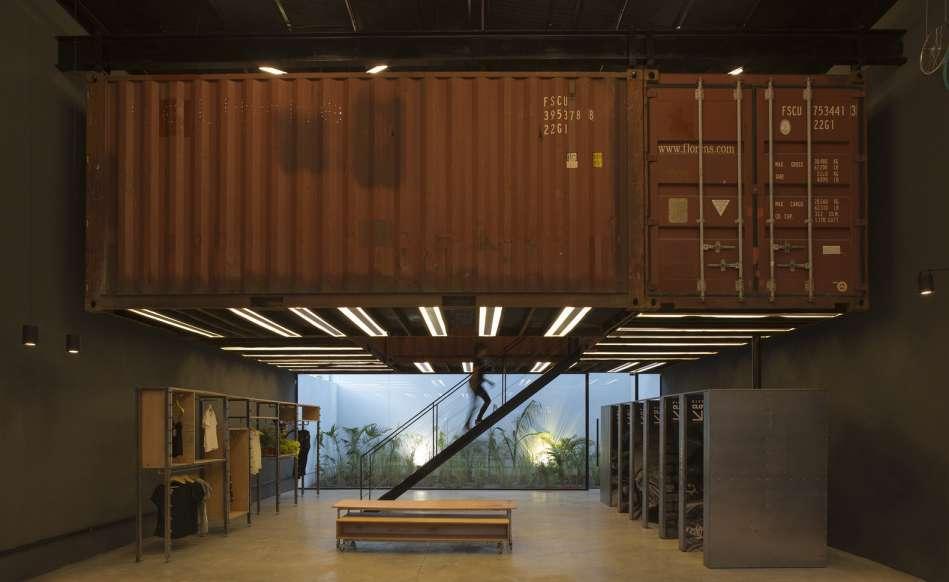 پلان فروشگاه های تجاری با مساحت 100 تا 1000 متر مربع - architectural plan retail shop 27