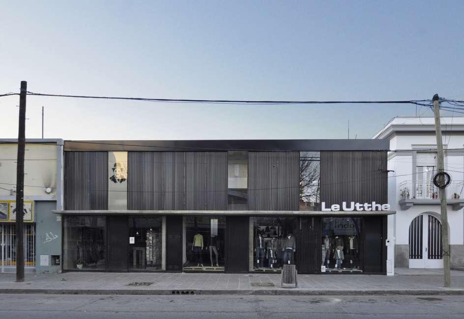 پلان فروشگاه های تجاری با مساحت 100 تا 1000 متر مربع - architectural plan retail shop 35