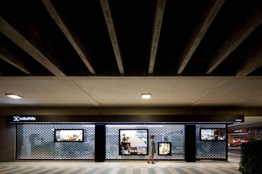 پلان فروشگاه های تجاری با مساحت 100 تا 1000 متر مربع - architectural plan retail shop 37