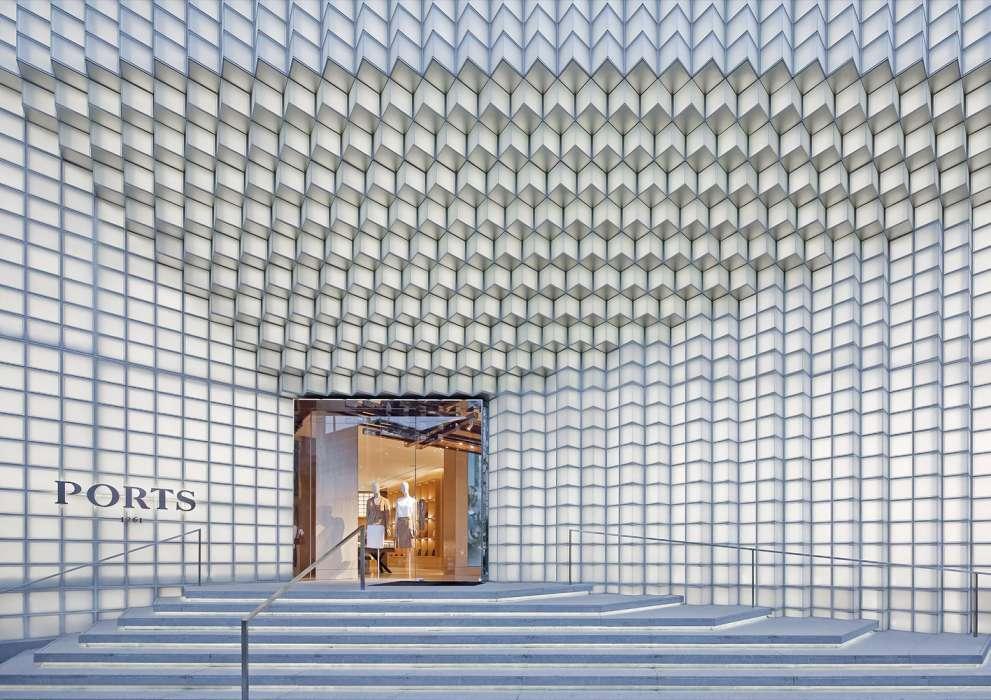 پلان فروشگاه های تجاری با مساحت 100 تا 1000 متر مربع - architectural plan retail shop 43