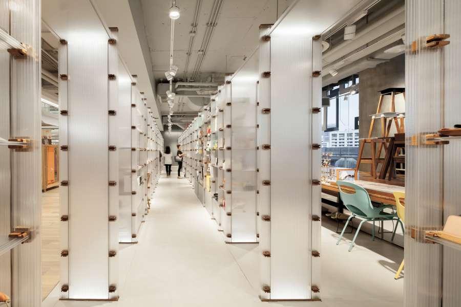 پلان فروشگاه های تجاری با مساحت 100 تا 1000 متر مربع - architectural plan retail shop 7