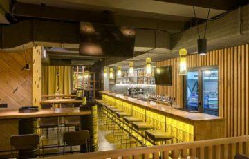 طراحی کافه بار در اوکراین