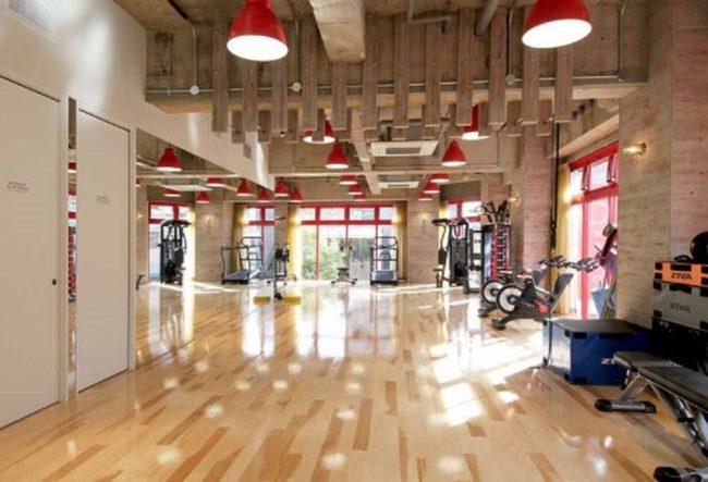 طراحی داخلی باشگاه بدنسازی در ژاپن