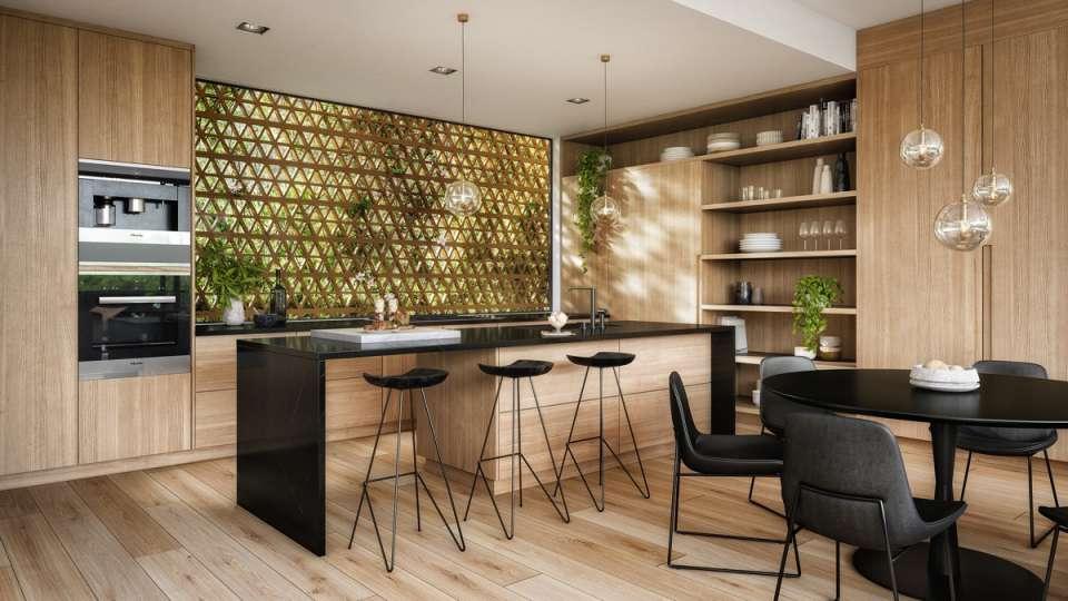 طراحی آشپزخانه لوکس