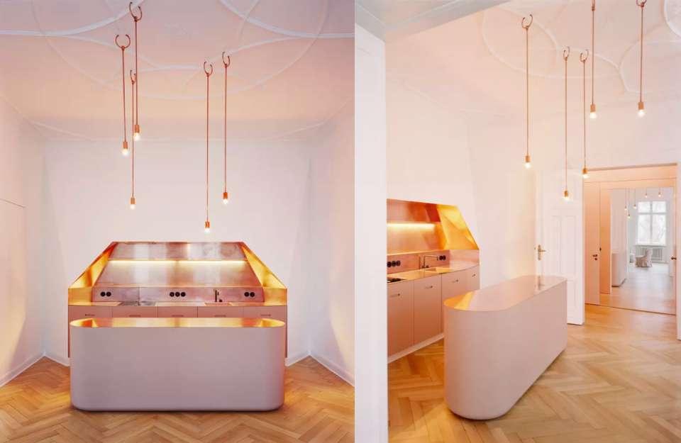 طراحی آشپزخانه لاکچری