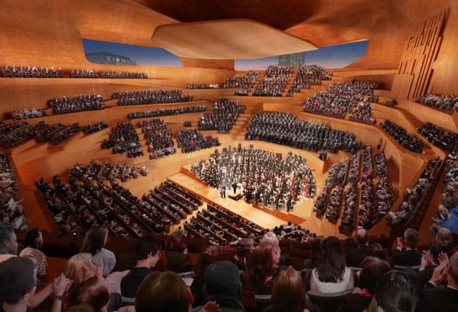 طراحی سالن کنسرت و موسیقی لندن