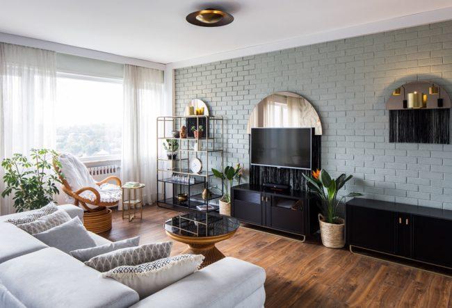 طراحی داخلی خانه به سبک کلاسیک