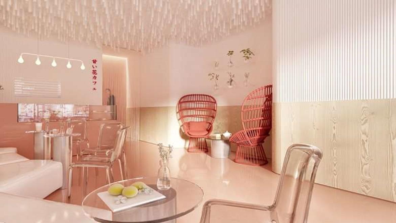 طراحی داخلی کافه قنادی در اوکراین - AMAI HANA bakery 6