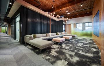 طراحی دفتر کار شرکت اتودسک در پورتلند