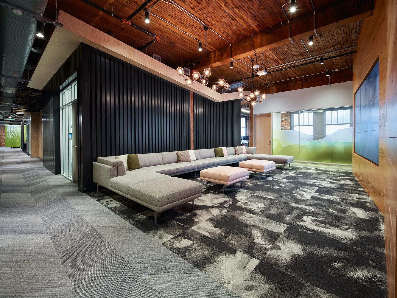 طراحی دفتر کار شرکت اتودسک در پورتلند - Autodesk office Portland 7 1