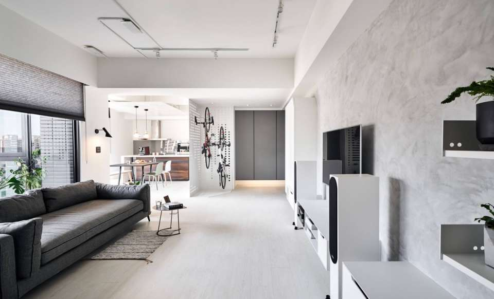 طراحی داخلی آپارتمان شهری