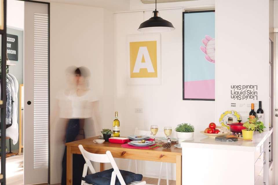 طراحی خانه رنگارنگ