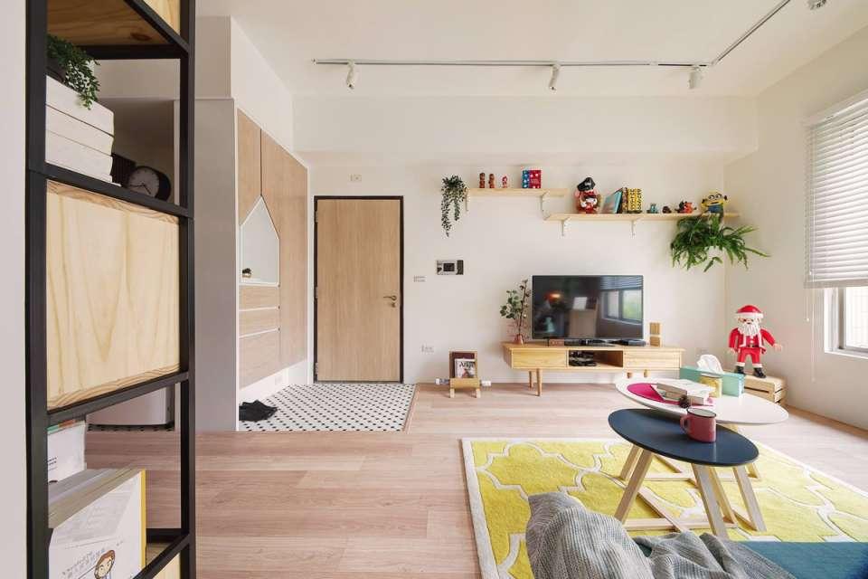 آپارتمان رنگی و کاربردی