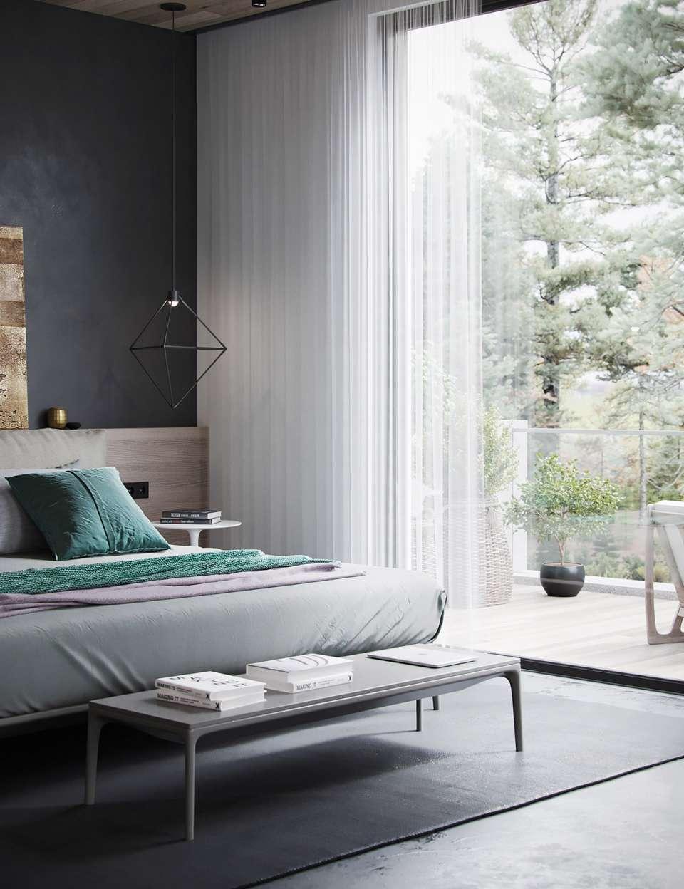 دکوراسیون داخلی خانه با رنگ مشکی