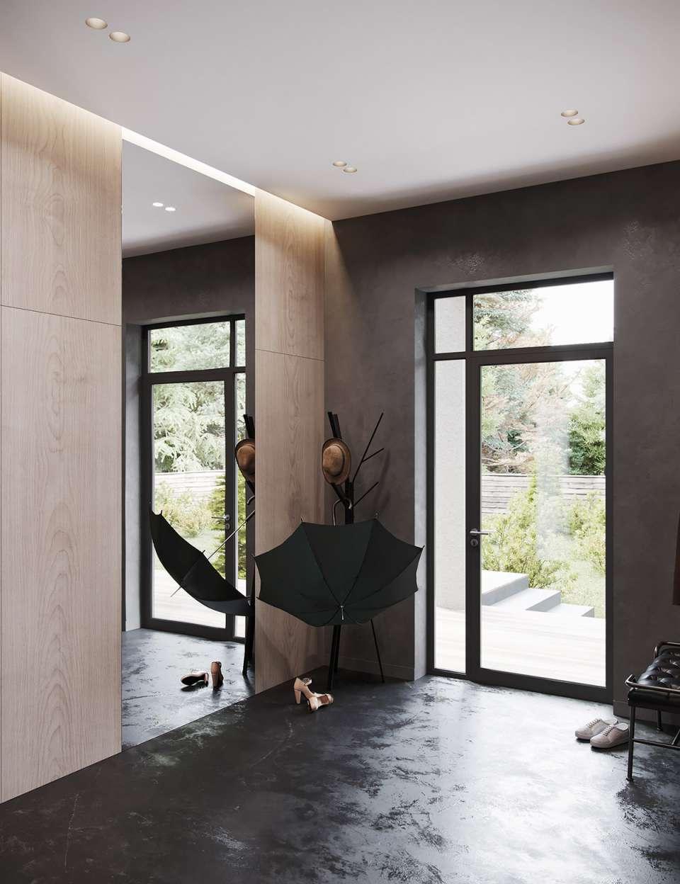 طراحی خانه با رنگ مشکی