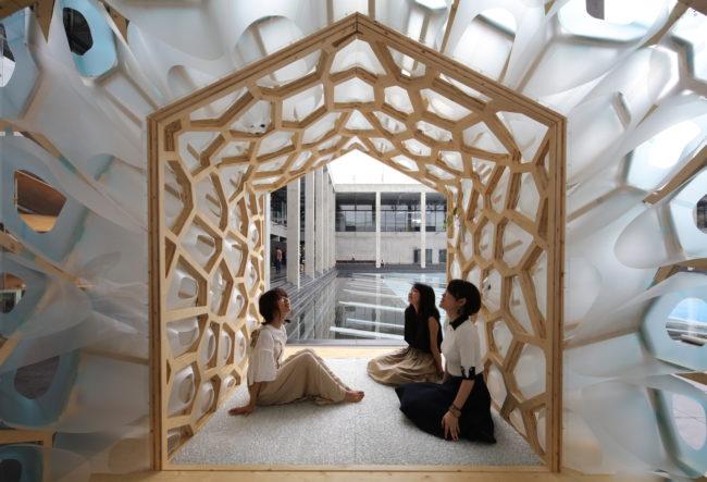طراحی چایخانه سنتی ژاپنی با شیوه ایی مدرن