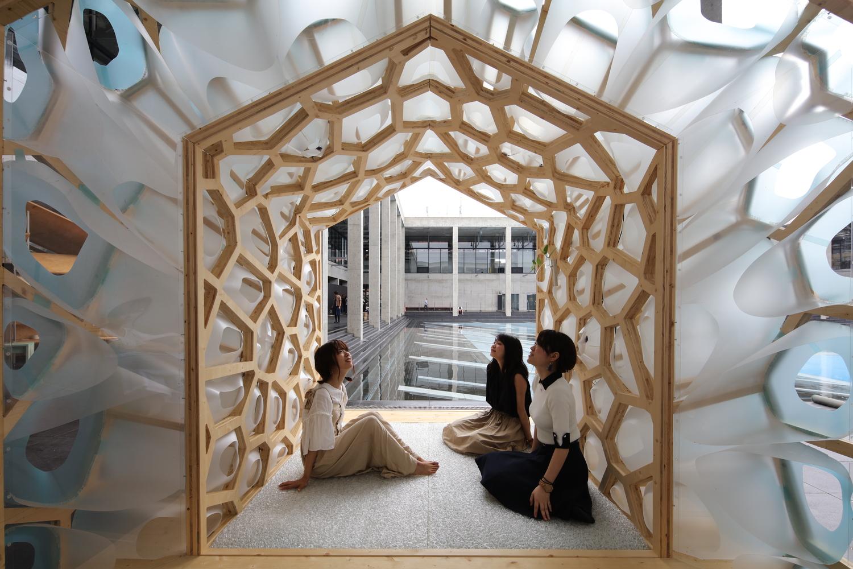 طراحی چایخانه سنتی ژاپنی با شیوه ایی مدرن - Japanese Tearoom 1 1