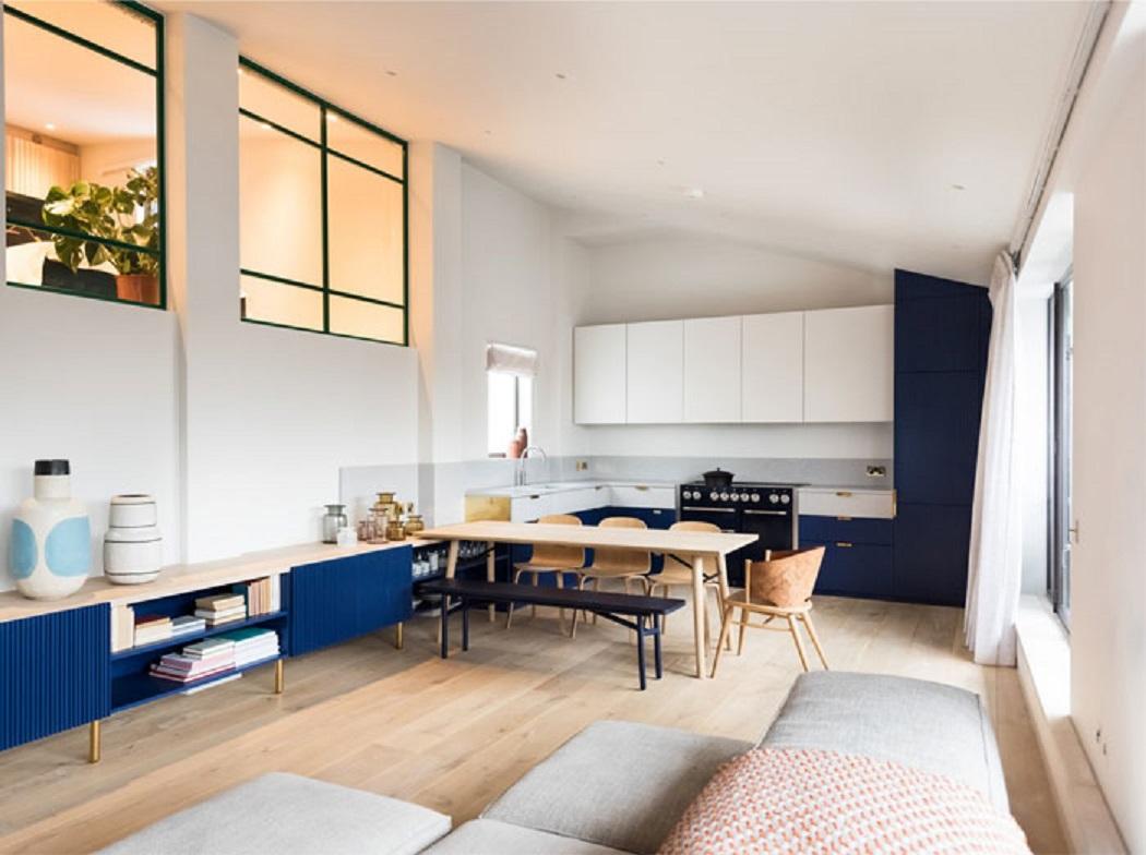 طراحی داخلی پنت هاوس مدرن در لندن - London Penthouse Renovation 4 1