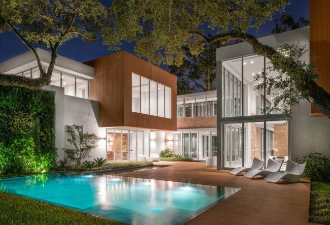 طراحی عمارت لوکس در فلوریدا