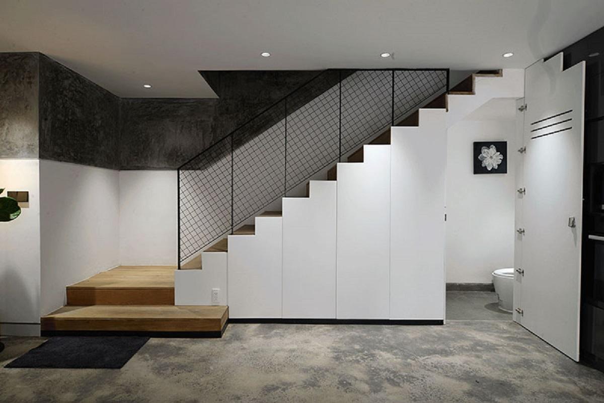 طراحی میکرو آپارتمان با کمد های مخفی - Micro apartment 3 1