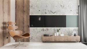 معمار آپ - معماری و دکوراسیون داخلی - Modern Minimalist Apartment 4 1 300x169
