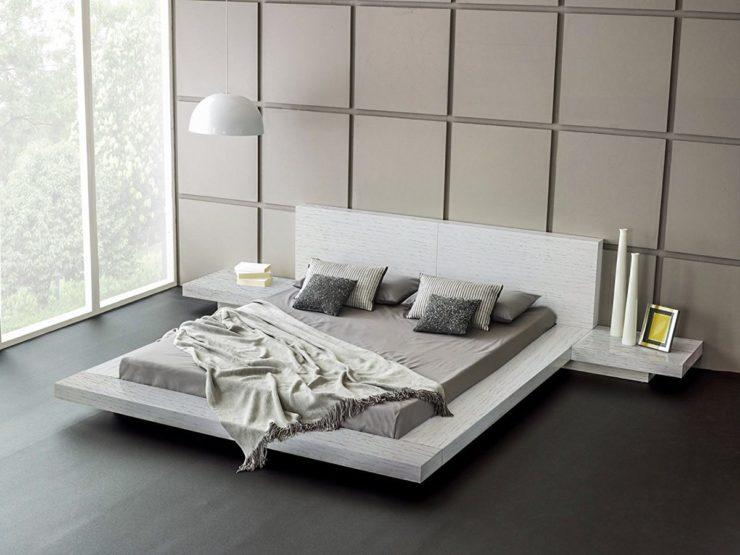 20 ایده طراحی تختخواب پلت فرم