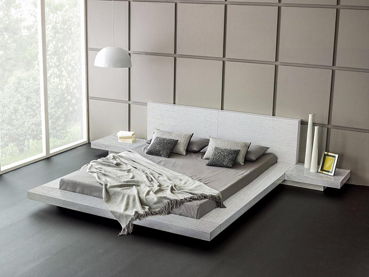 20 ایده طراحی تختخواب پلت فرم - Modern Platform Beds 11 1