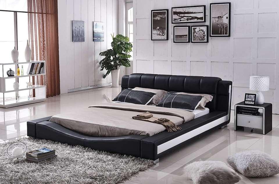 ایده طراحی تخت خواب پلت فرم