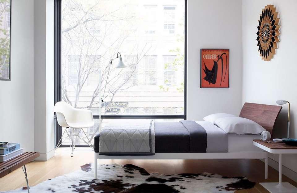 طراحی تخت خواب پلت فرم