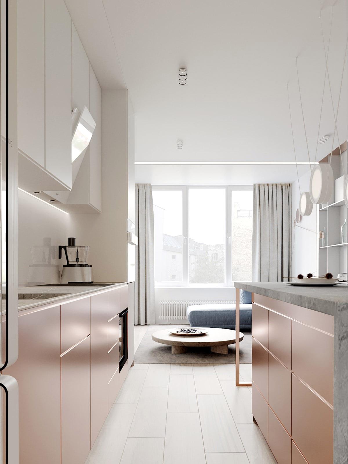 دیزاین منزل با رنگ های پاستلی