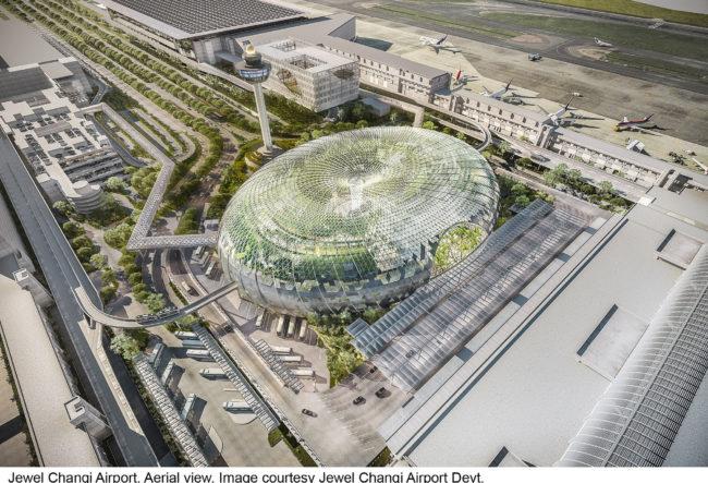 طراحی فرودگاه سنگاپور با رویکرد معماری سبز