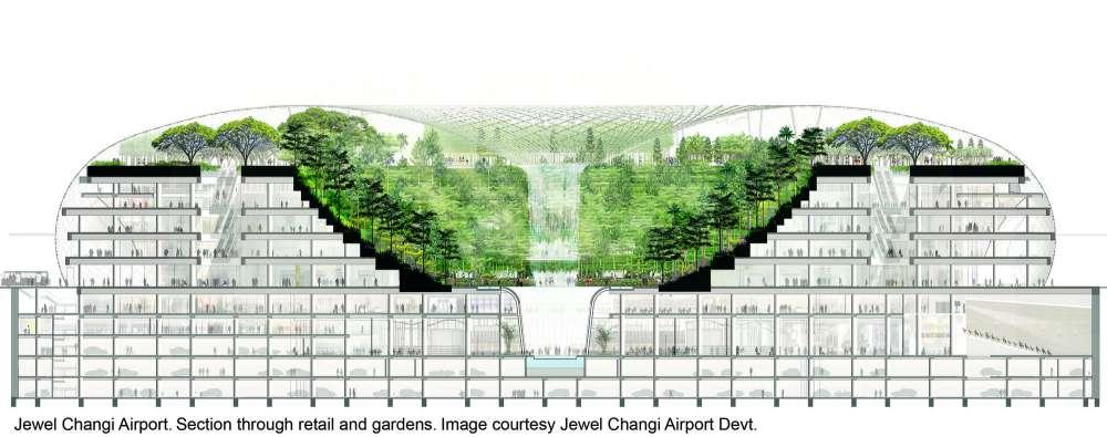 طراحی فرودگاه سنگاپور