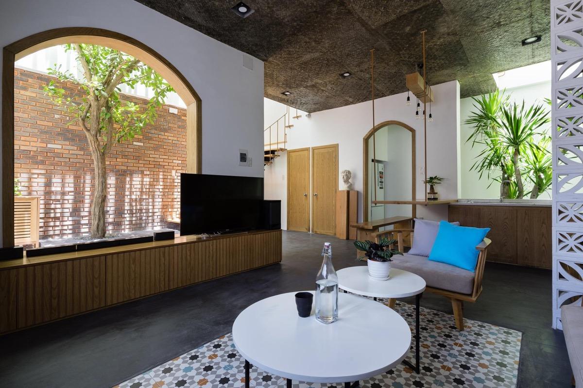 طراحی خانه دوبلکس گرمسیری با حیاط داخلی - Tropical House 2 1