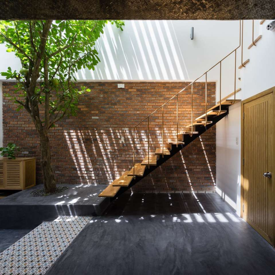 طراحی خانه دوبلکس گرمسیری