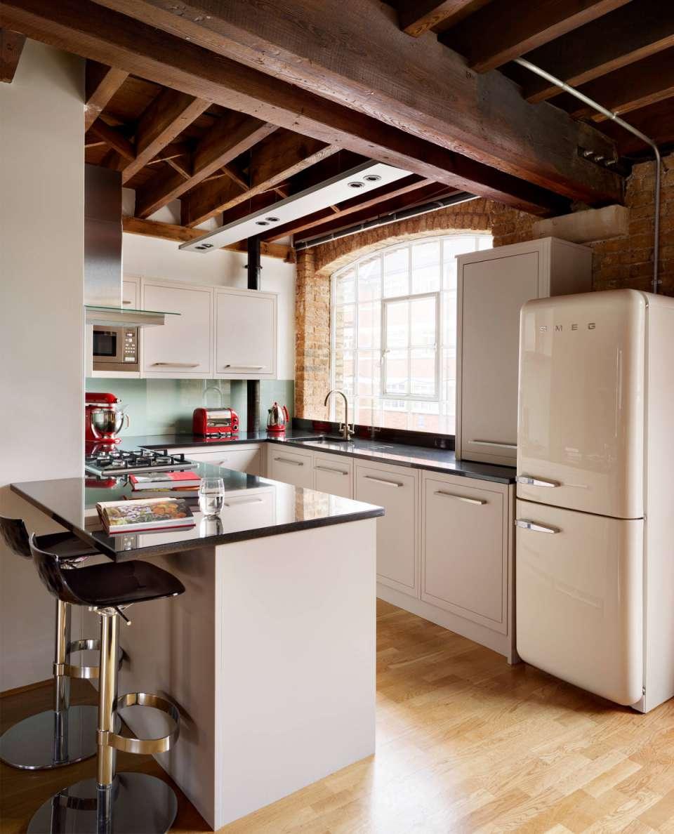30 ایده طراحی آشپزخانه U شکل - U Shaped Kitchens 11