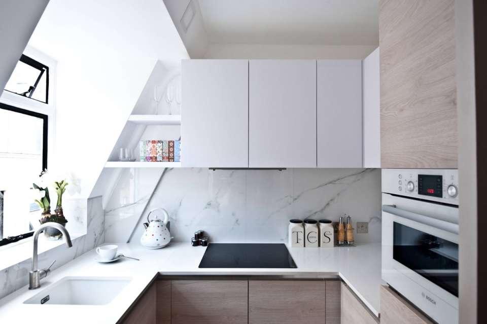 30 ایده طراحی آشپزخانه U شکل - U Shaped Kitchens 16