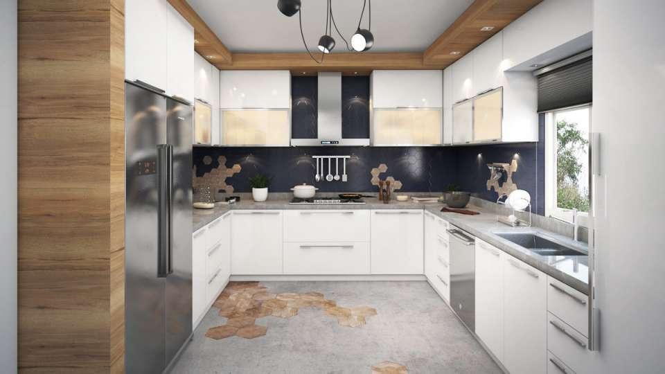 30 ایده طراحی آشپزخانه U شکل - U Shaped Kitchens 18