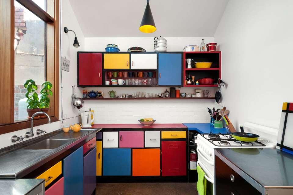 30 ایده طراحی آشپزخانه U شکل - U Shaped Kitchens 23
