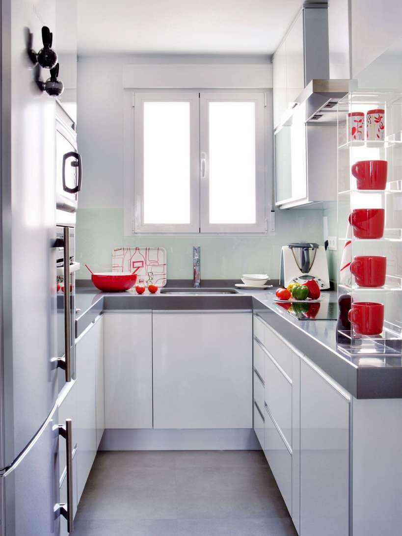 30 ایده طراحی آشپزخانه U شکل - U Shaped Kitchens 28