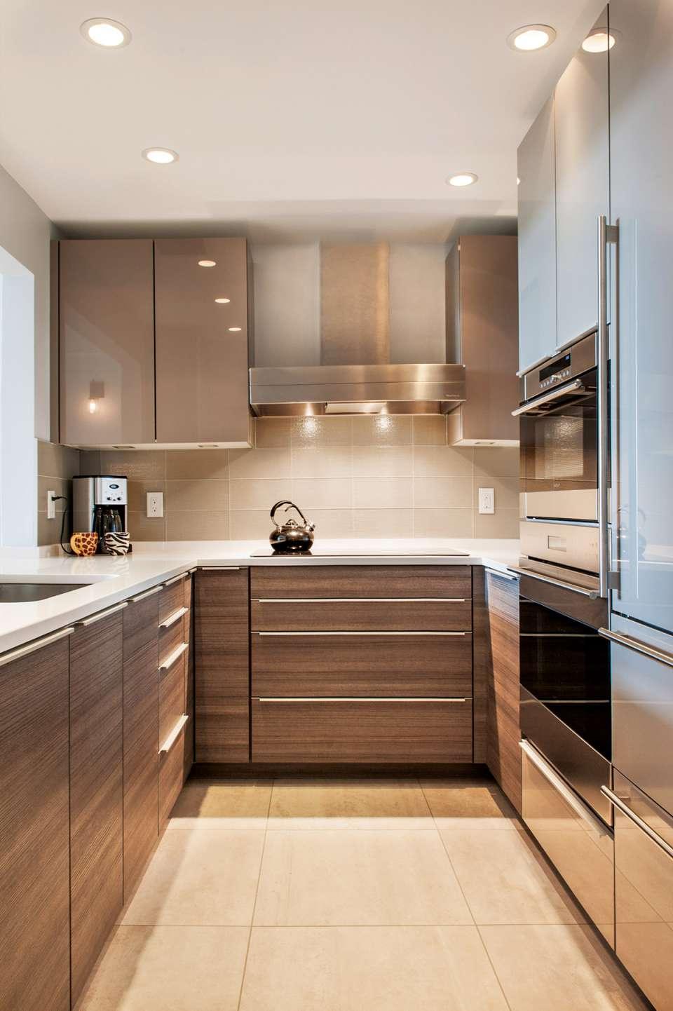 30 ایده طراحی آشپزخانه U شکل - U Shaped Kitchens 29
