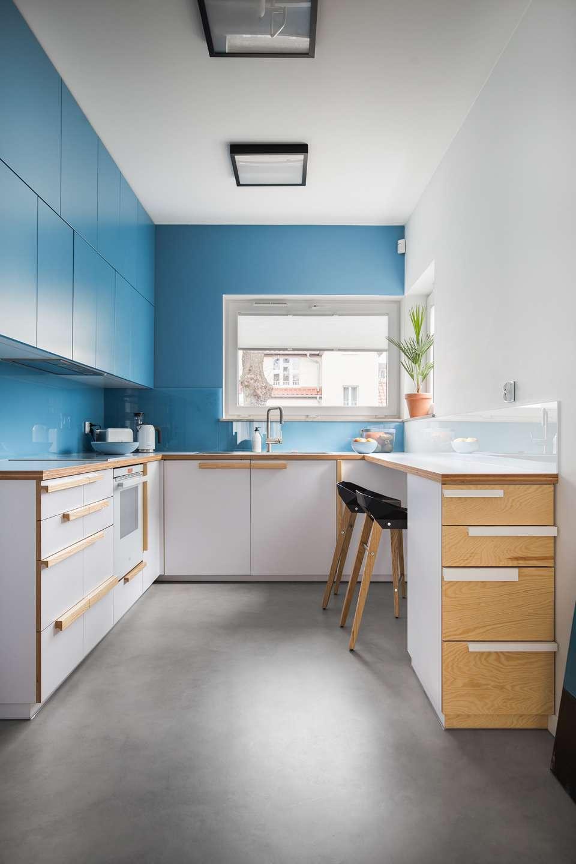 30 ایده طراحی آشپزخانه U شکل - U Shaped Kitchens 3