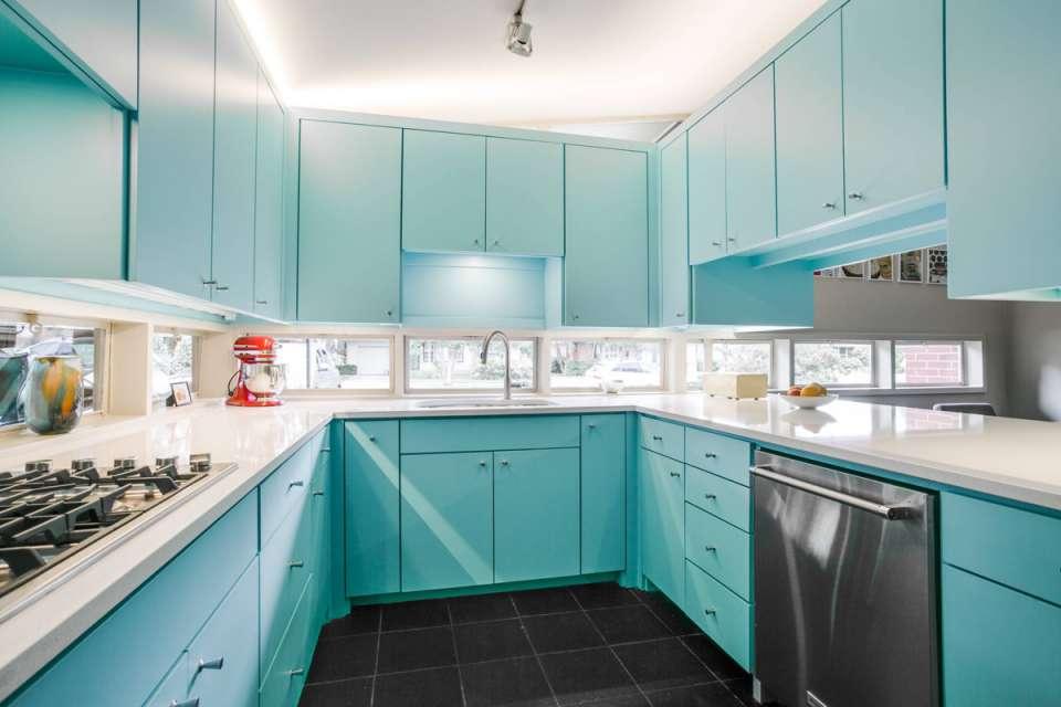 30 ایده طراحی آشپزخانه U شکل - U Shaped Kitchens 4