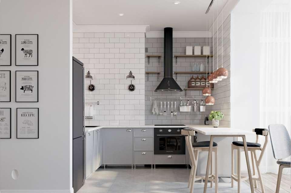 30 ایده طراحی آشپزخانه U شکل - U Shaped Kitchens 5