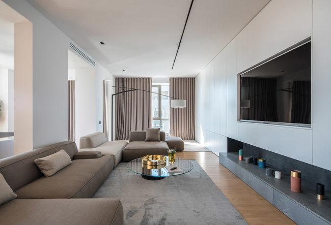 بازسازی و طراحی خانه به سبک مینیمال