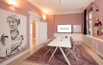 طراحی دفترکار شرکت طراحی داخلی در آلمان